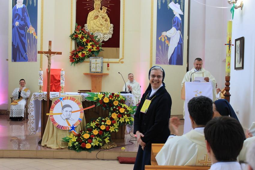 Представлення Мати Генеральної на VIII паломництві Вікентійської Родини